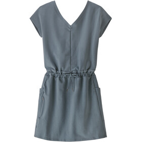 Patagonia Organic Cotton Roaming Dress Women, gris